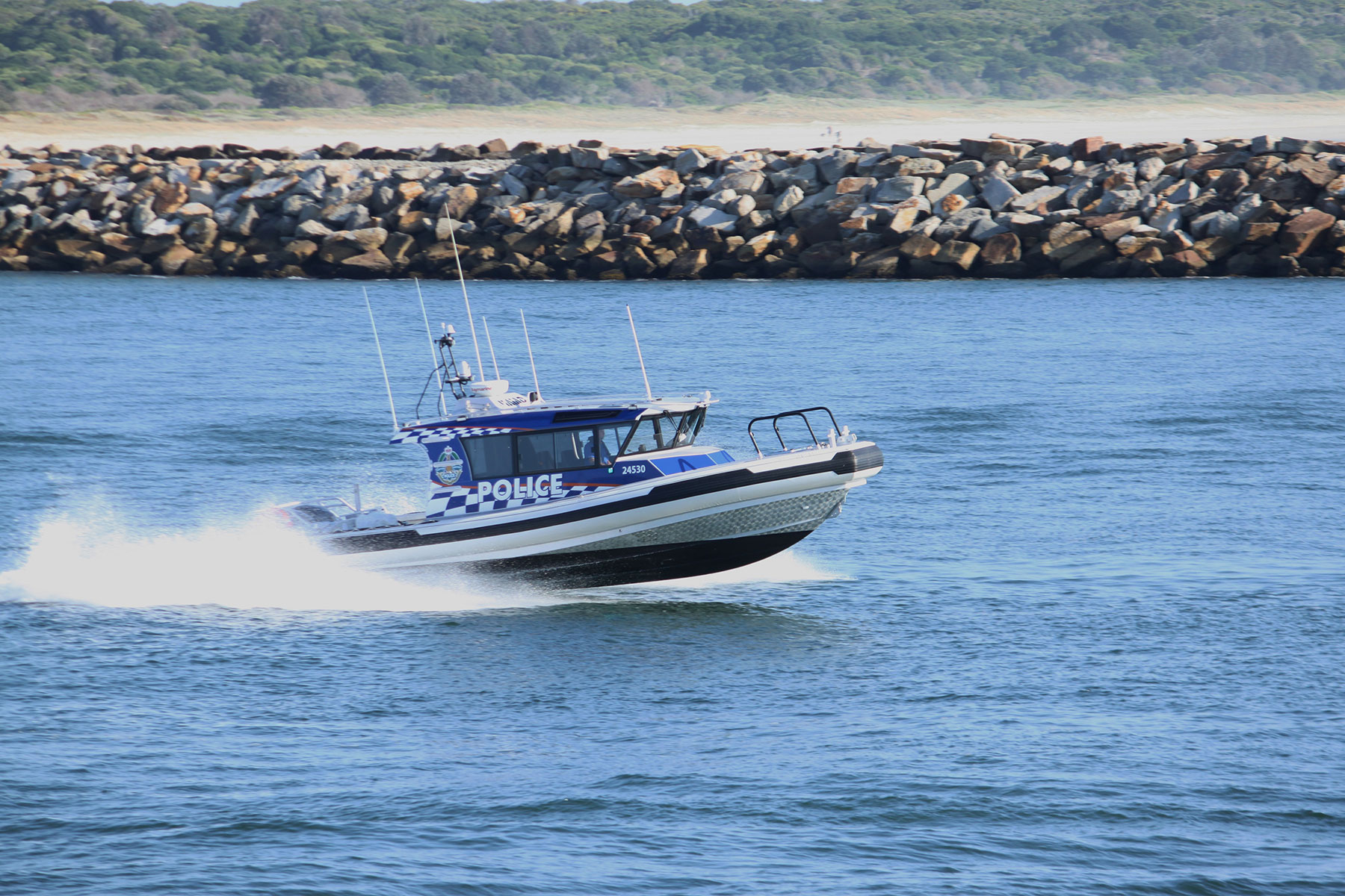 Commercial Boat Wraps, Police